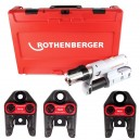 Romax AC Eco ηλεκτρική πρέσα σετ 3 καλούπια Rothenberger 1.5730
